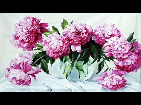 Художник Татьяна Кулигина и её восхитительные цветы