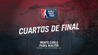 DIRECTO | CUARTOS DE FINAL Montecarlo Master | World Padel Tour 2015