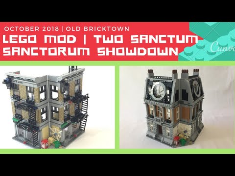 LEGO MOD | Two Marvel Sanctum Sanctorum Showdown Sets Made into Two Separate Modular Buildings