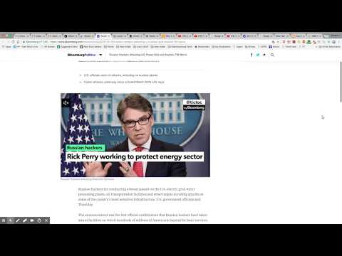 Russian Hackers Attacking US Power Grid & More