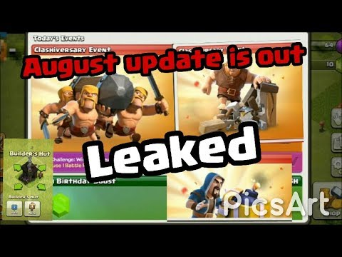 COC AUGUST UPDATE   CLASHIVESARY UPDATE 2017   CLASH OF CLANS   HINDI