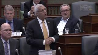 Fedeli Questions Premier on Ontario Power Generation