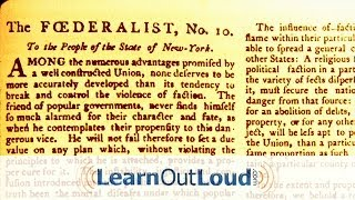 Federalist No. 10 by James Madison