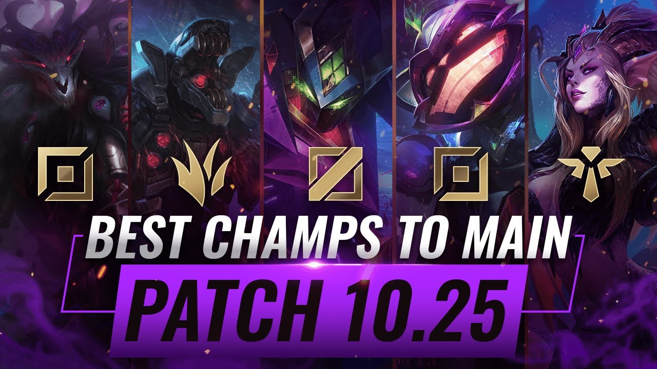 3 Best Champions To Main For Every Role In Patch 10 25 League Of Legends Preseason 11 Youtube