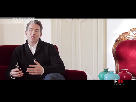 "AGNONA Creative Director Simon Holloway interview for ""Closing in"" Fashion Channel"