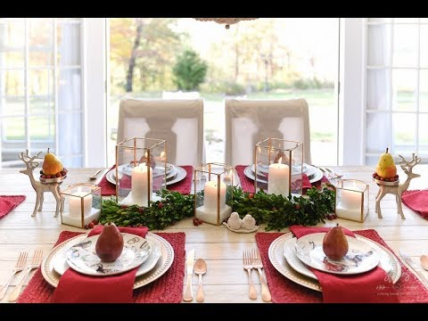 How to Set an Informal Table - YouTube