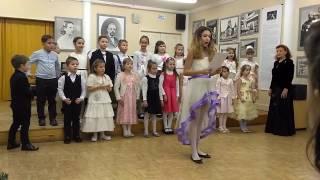 Смотреть видео Новогодний хоровой концерт, Москва, ДШИ №17 онлайн