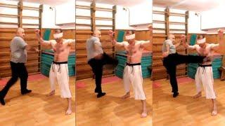 Достаточно и этого упражнения для каменного пресса/This exercise is enough for the stone abs