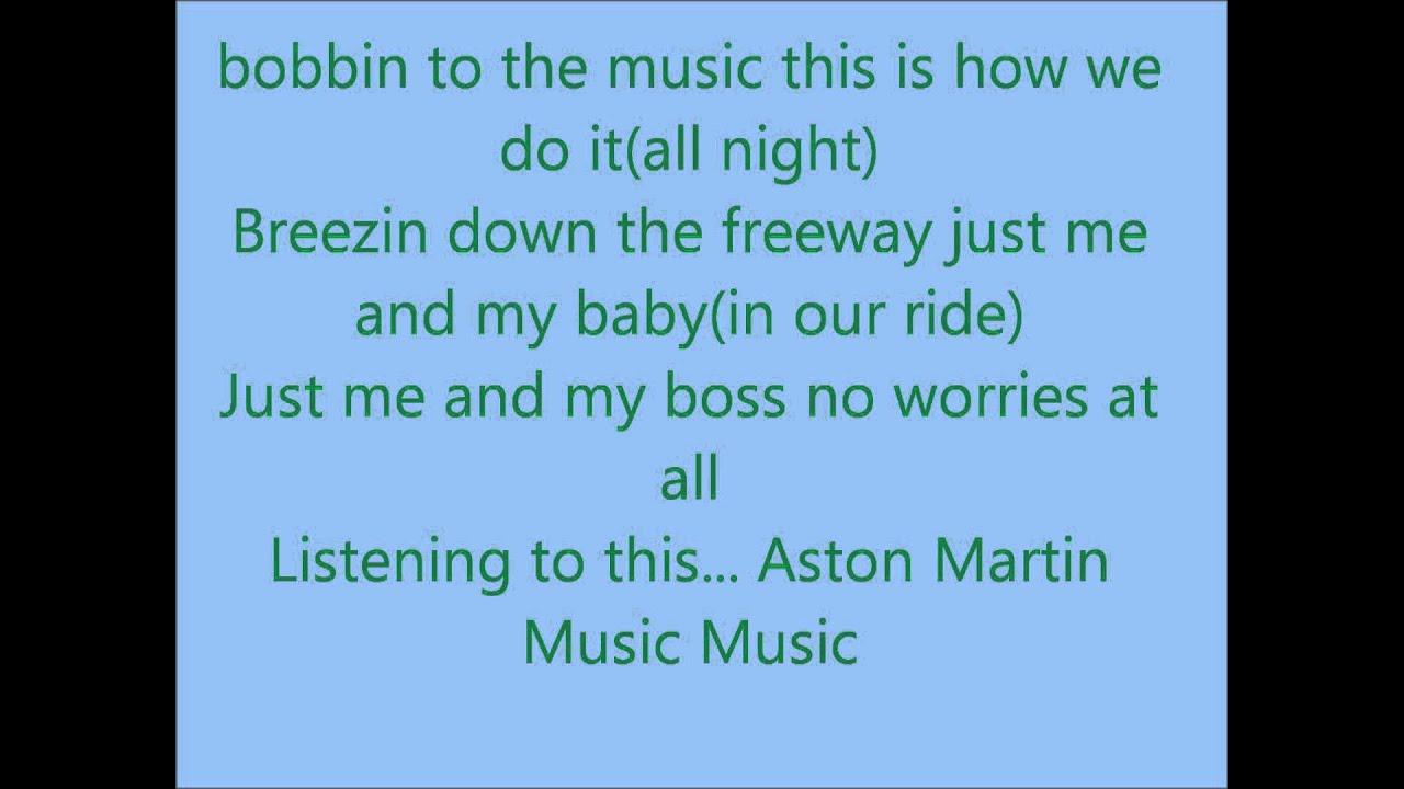 Aston Martin Music Lyrics | wale aston martin lyrics
