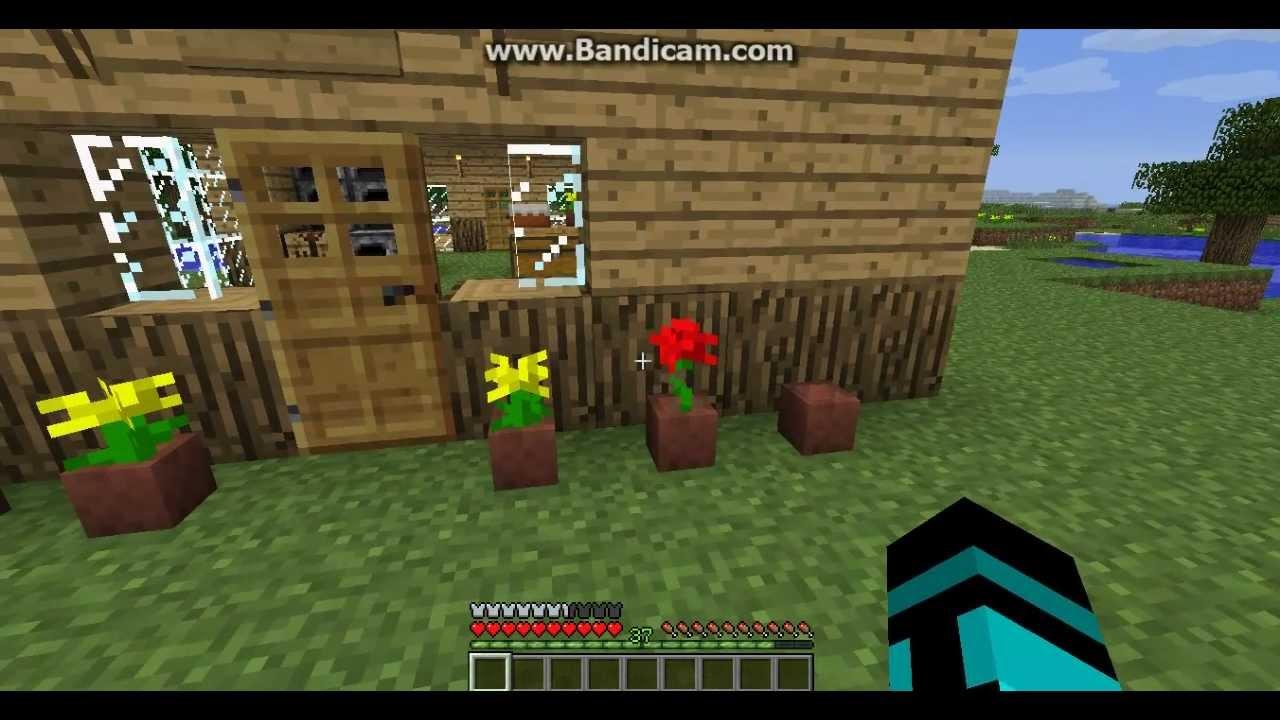 How To Flower Pot Minecraft