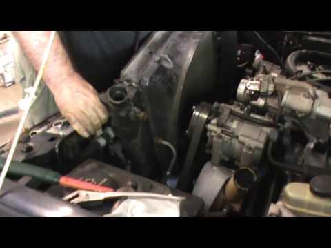 Radiator Replacement Ford Ranger 4.0 Liter V-6 Engine