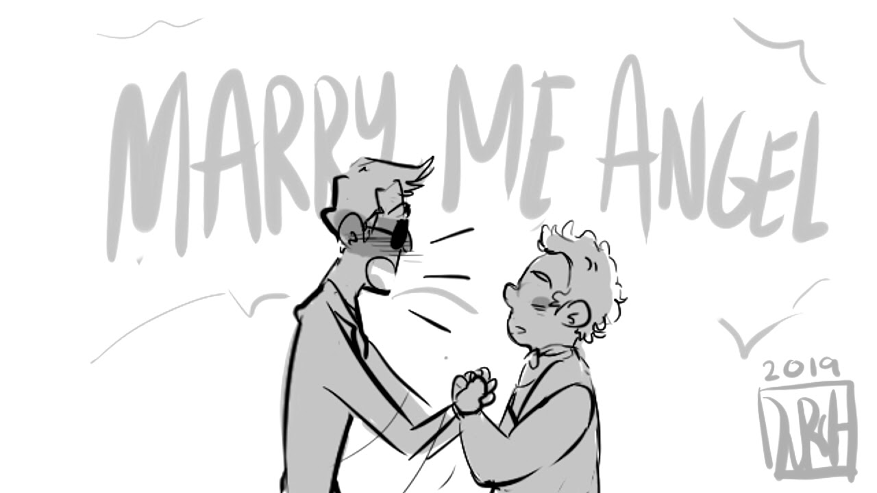 Aziraphale and Crowley marry? | Meme