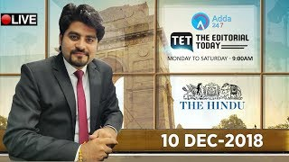 Download Video 10th DECEMBER 2018 | The Hindu | The Editorial Today | Editorial Discussion &  Analysis MP3 3GP MP4