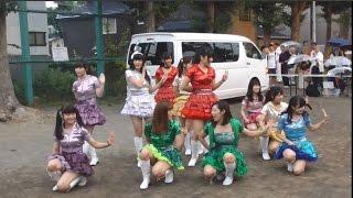 20160815 第45回桑園地区盆踊り大会 北海道ご当地アイドル フルーティー.