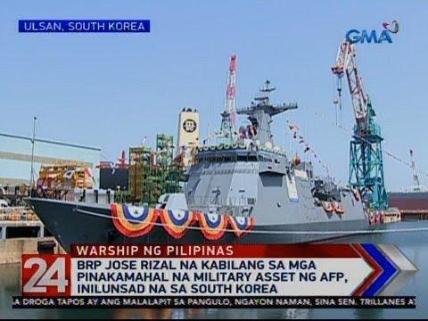 24 Oras: BRP Jose Rizal na kabilang sa mga pinakamahal na military asset ng AFP, inilunsad...