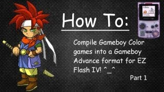 Converting EZ Flash IV games - GBC to GBA format Part 1 of 2