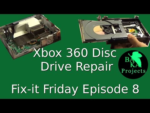 Xbox 360 Disc Drive Repair - Fix it Friday