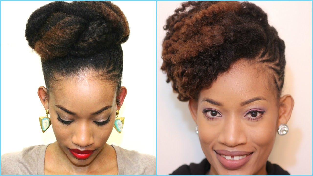 Easy Protective Styles Fine Natural Hair