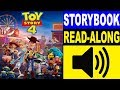 Toy Story 4 Movie Storybook | Read Along Story Books for Kids Children Toddlers | SPOILERS
