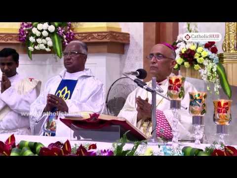 Silver Jubilee Mass(Most.Rev.Bernard Moras) @ St.Jude's Church,Bangalore,India,30-10-16