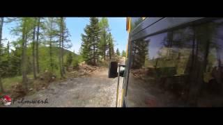 Eine Fahrt mit der Schneebergbahn/Salamanderbahn
