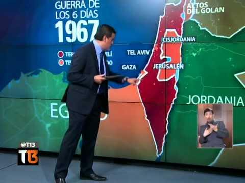 Ramón Ulloa explica la historia de conflictos Israel-Palestina