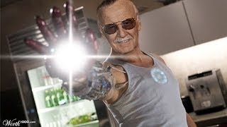 Stan Lee meets real Tony Stark at Legacy Effects - TEASER