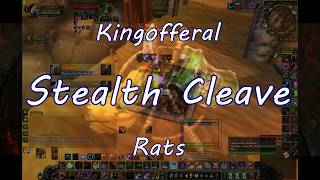 Stealth Cleave #1 PvP Feral Rogue if 2s Arena wow 3.3.5a