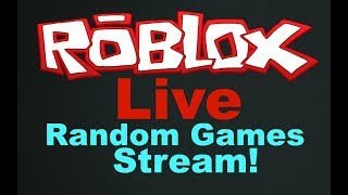 PLAYING RANDOM GAMES ON ROBLOX! STREAM #42