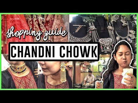 Exploring Chandni Chowk: Jewellery, Sarees, Food & Wholesale Shopping Guide!