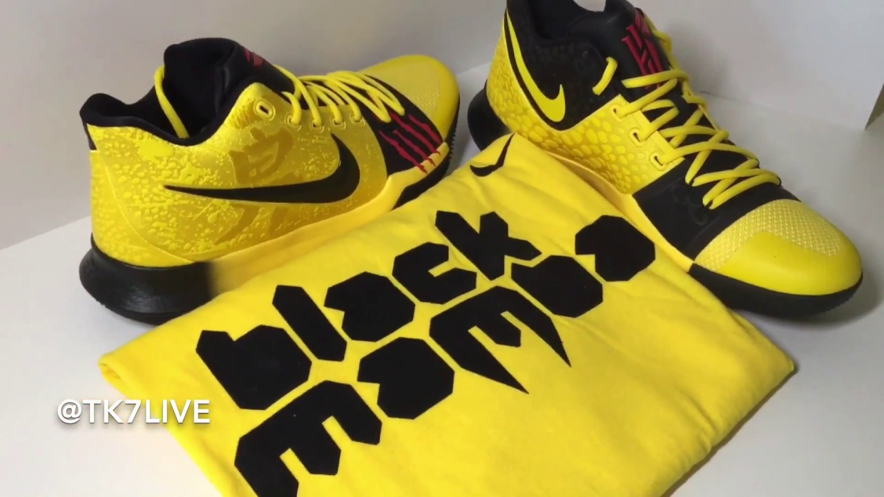 uk availability 0687d 4dd09 NIKE KYRIE 3 MAMBA MENTALITY BRUCE LEE PREVIEW