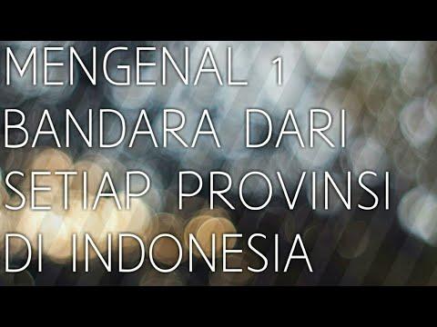 MENGENAL 1 NAMA BANDARA DARI SETIAP PROVINSI DI INDONESIA ...
