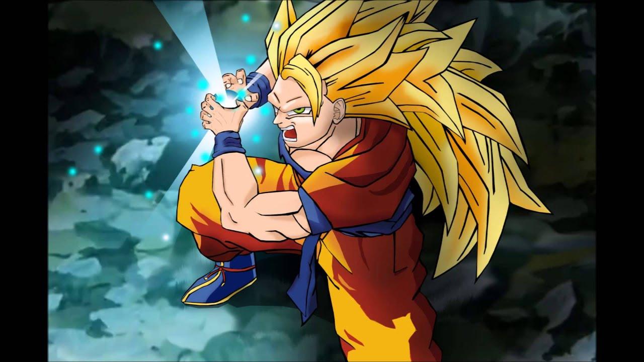 Dragon Ball Z 3d Wallpaper Download Goku Ssj3 Power Up Theme Remix Youtube