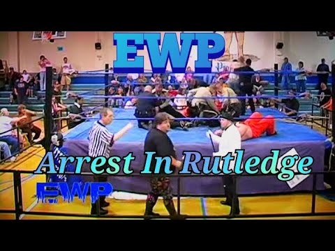 EWP Wrestlers Getting Arrested in Rutledge TN SIGMON DAVID YOUNG JEFF ANDERSON