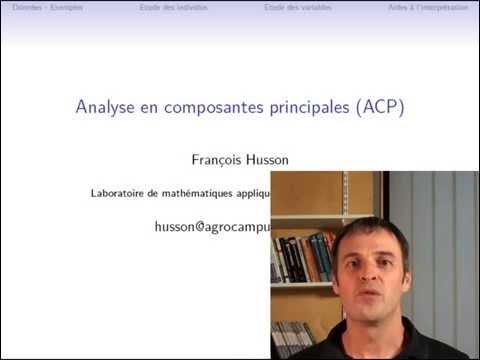 Cours d'ACP : données et problématique (partie 1/3)