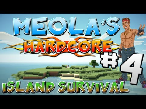 THE ENDERMEN WILL PAY | MEOLA's Hardcore Island Survival | Episode 4