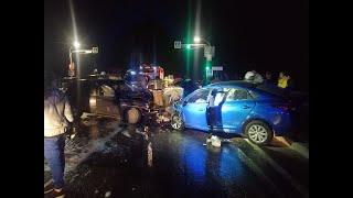На трассе под Симферополем в лобовом ДТП погиб водитель легкового автомобиля