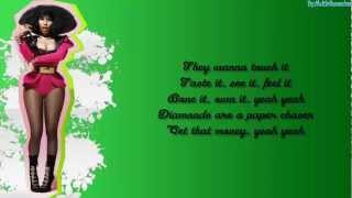 Nicki minaj ft Cassie - The Boys - Video lyrics