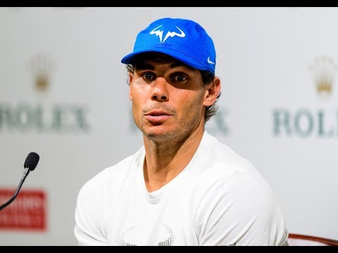 Shanghai Rolex Masters - INTIMATE CHAT WITH RAFA NADAL
