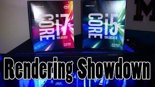 Video Rendering Face-Off: i5 vs. i7