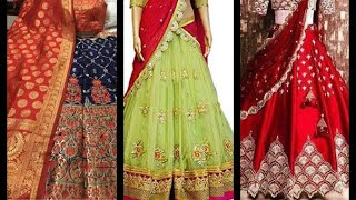 Sowkarpet  new model bridal Lehanga collections with lowest price wedding Lehangas   ₹2000-8000.....