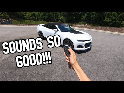 Chevrolet Camaro ZL1 Review ***INSANE ACCELERATIONS*** - Sick Whips Episode 1