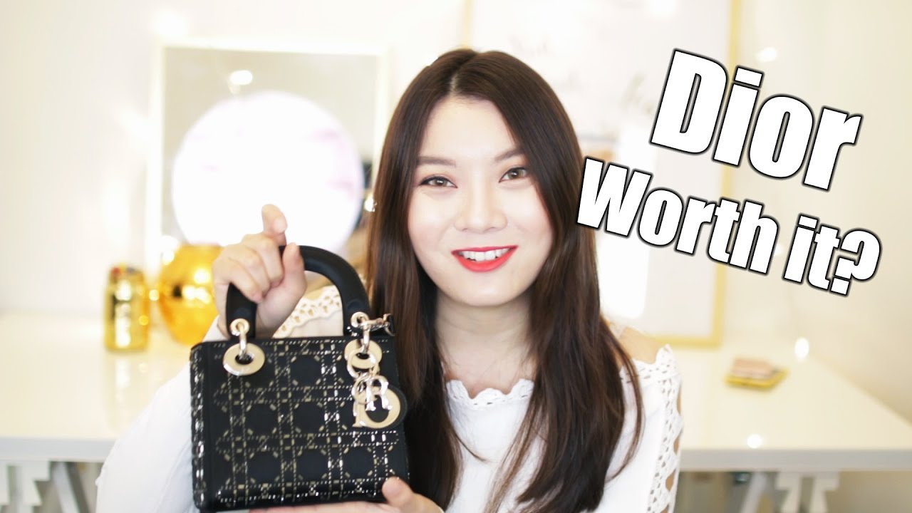 521a534705d8 Mini Lady Dior Bag Review - Current Favorite Bag - YouTube