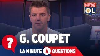 La minute à questions VS Grégory Coupet | Olympique Lyonnais