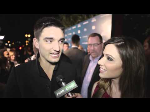 Tom Parker of The Wanted American Music Awards 2012 After Party