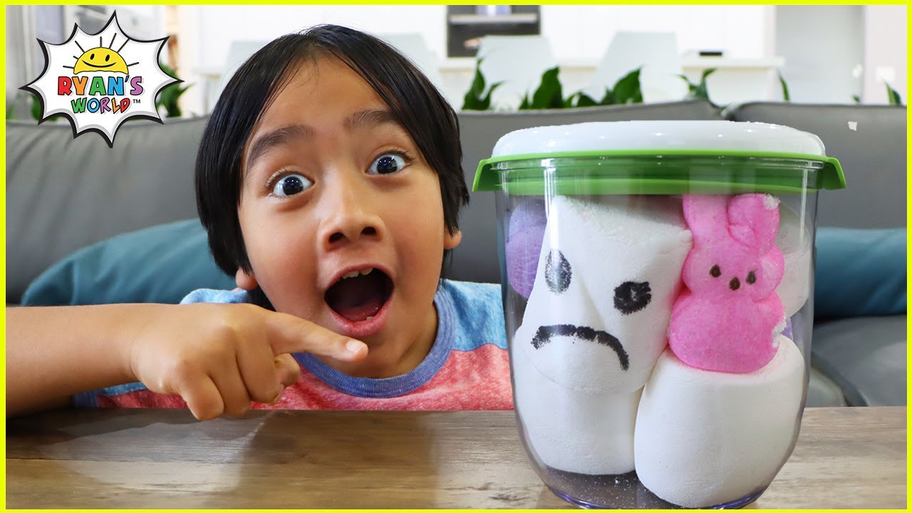 Top Kids Science Experiments to do at home | Marshmallow in a Vacuum 1hr kids video