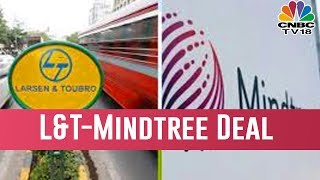 L&T CEO SN Subrahmanyan Addresses The Media On The Deal With Mindtree