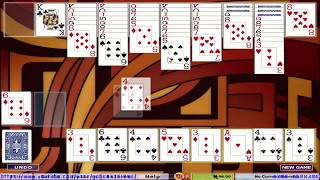 Hoyle Card Games 2005 - Solitaire  - Batsford [1080p]