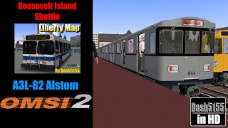 liberty roosevelt shuttle ride with a3l 82 alstom omsi 2