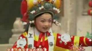 Kong Ying ,a seven-year-old girl sing china henan opera